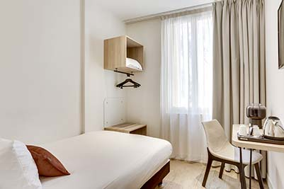 Hotel CourSeine - Chambre single